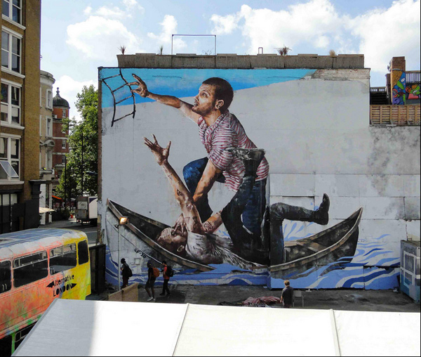 """Survival"" by Fintan Magee"