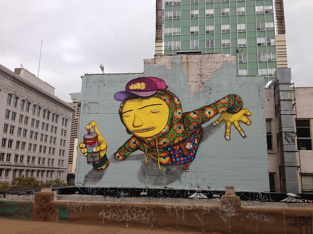OSGEMEOS: Everyday They Write the Book