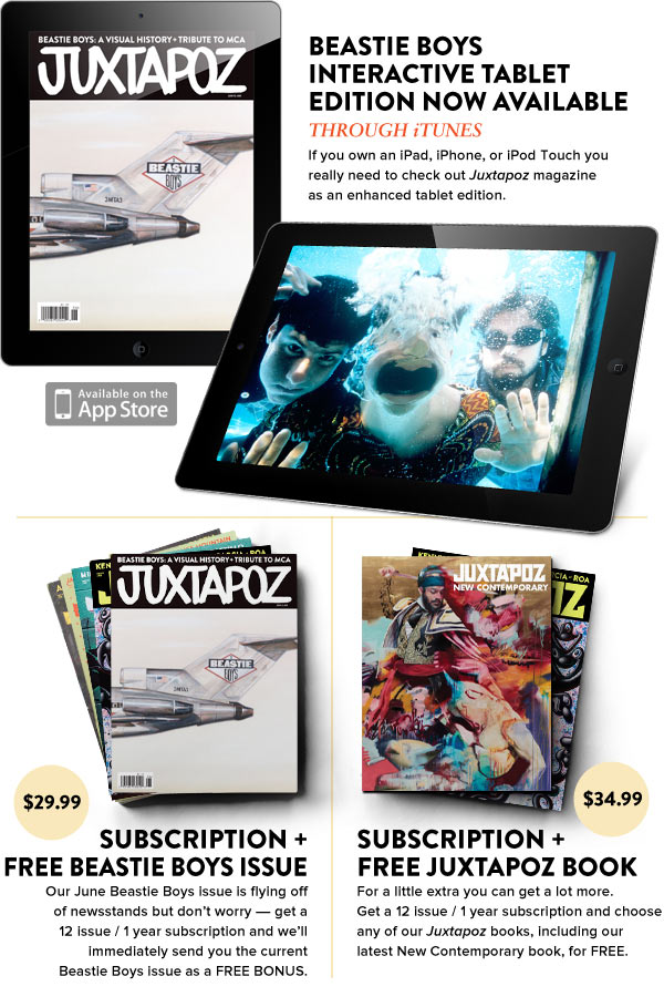 Beastie Boys Interactive Tablet Edition + New Subscription Deals