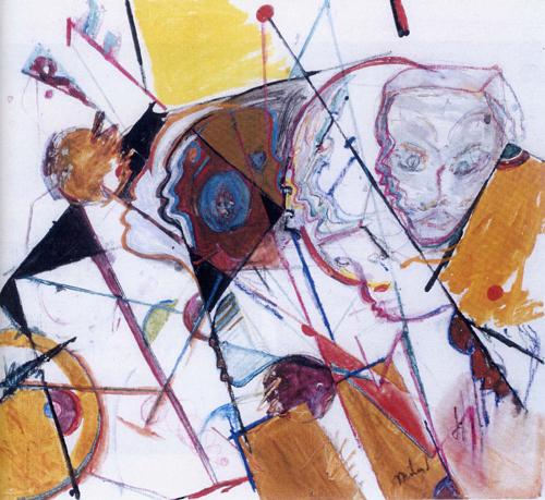 Poznati muzičari kao slikari 7