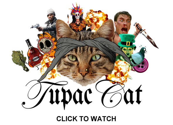TupacCatCollage