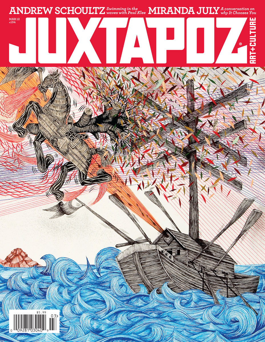 Juxtapoz Magazine Look Inside: March 2012 Issue