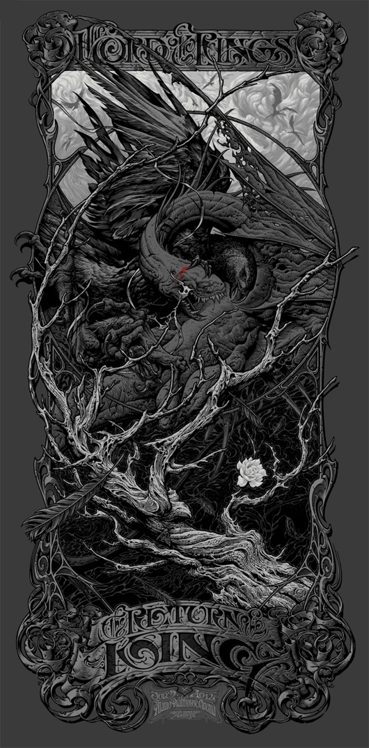 Juxtapoz Magazine Aaron Horkey The Lord Of The Rings The Return