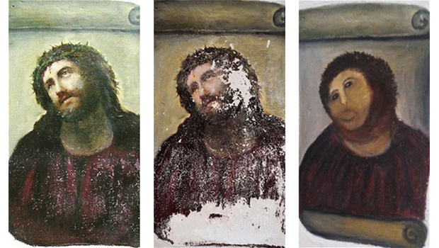Ecce-Homo-by-19th-century-painter-El-as-Garc-a-Mart-nez-on-the-walls-of-the-church-of-Santuario-de-Misericordia--gawker-com