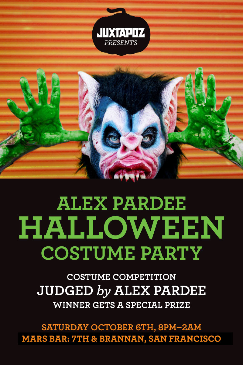 Juxtapoz-Pardee-Halloween-Party