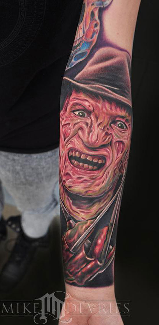 Freddy-Kruger-Tatto