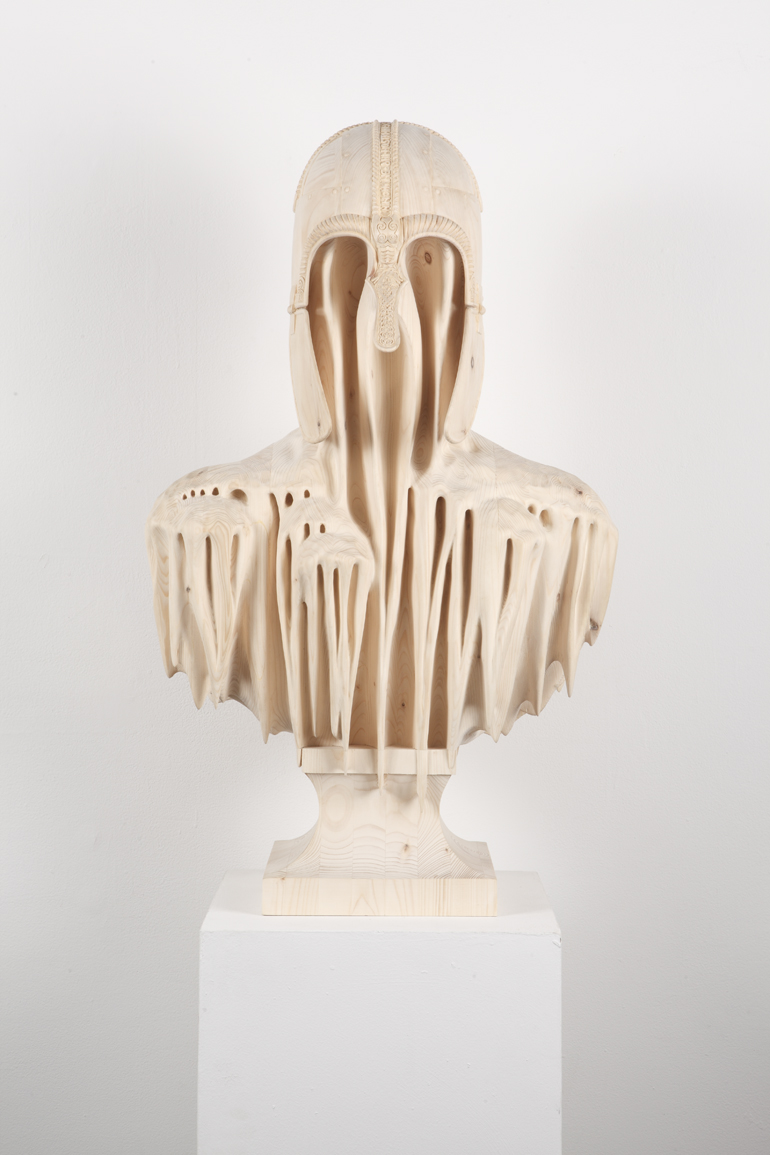 Hand-Carved Wood Sculptures by Morgan Herrin : Morgan_CopperGate_Front_L.jpg