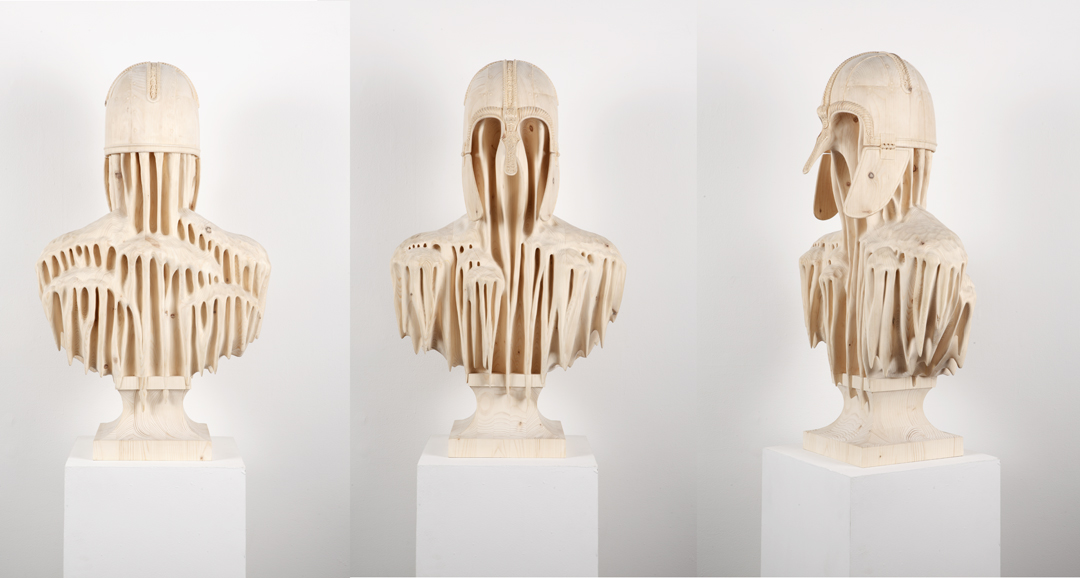 Hand-Carved Wood Sculptures by Morgan Herrin : Morgan_CopperGate_three sides_L.jpg