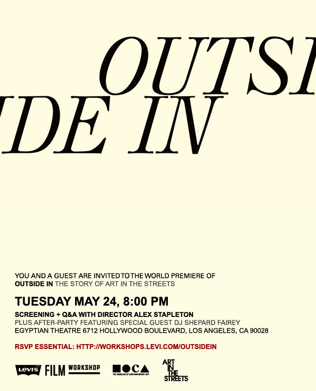 "Tonight in LA: World Premiere of ""Outside In: The Story of Art In the Streets"" at Egyptian Theatre: outside-in_10_20110518_2071288198.jpg"