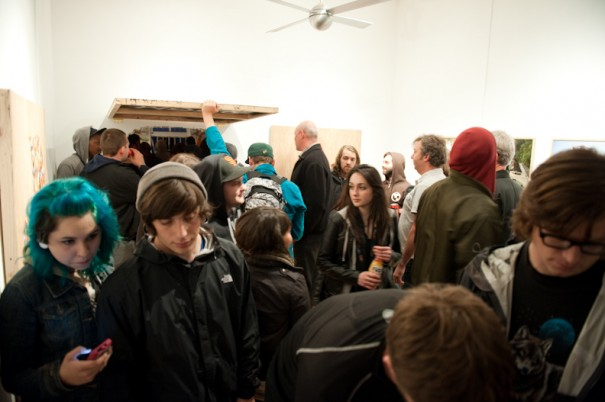 "Opening Photos: Swampy ""In My Room"" at FIFTY24SF Gallery: swampy_installation_38_20110613_1111467058.jpg"