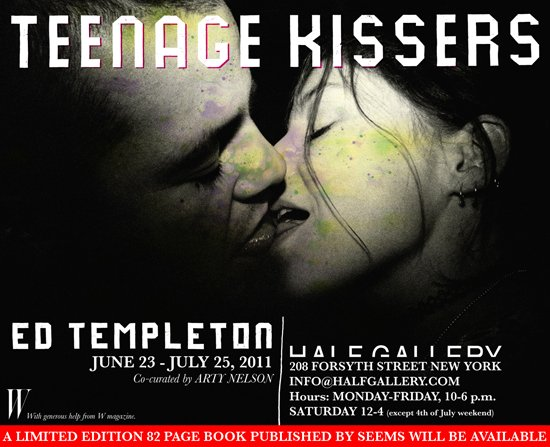 "Ed Templeton ""Teenage Kissers"" at Half Gallery NYC: ed_templeton_4_20110622_2038192491.jpg"