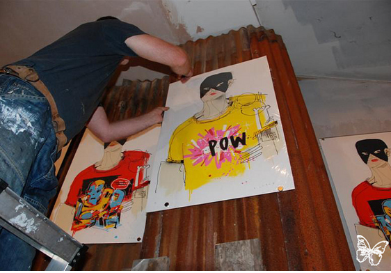 Set-Up: Anthony Lister @ Pictures on Walls London: lister_pow_23_20110623_1378911842.png