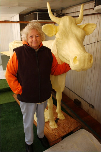 The Butter-Cow Lady Dies at Age 81: butter_cow_lady_7_20110628_1178657415.jpg