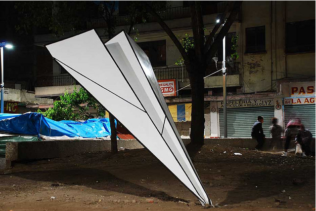 Paper Airplane Intervention by Mexico's Said Dokins: said_dokins_16_20110628_1798418231.png
