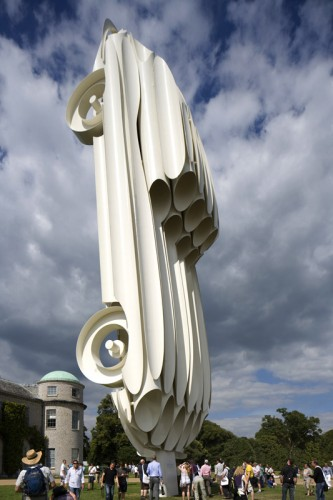 Car Culture: Jaguar E-Type Sculpture by Gerry Judah: jaguar_sculpture_5_20110705_1874303984.jpg