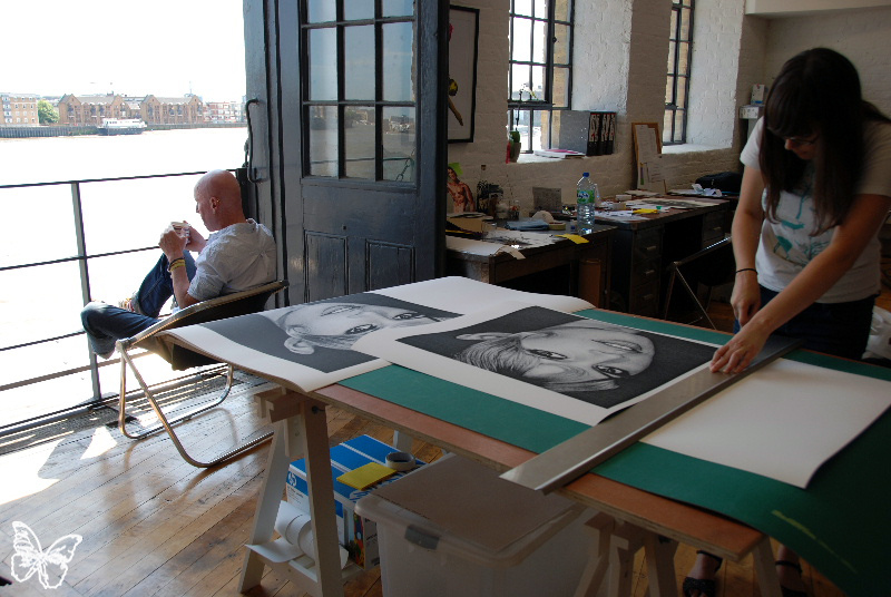 Studio Visit: Lazarides Print Studio in Wapping, London: laz_print_studio_31_20110707_1876253630.jpg