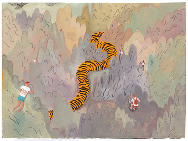 In Illustration: The Work of Nicholas Stevenson: tigers_face_5_20110714_1385119015.jpg
