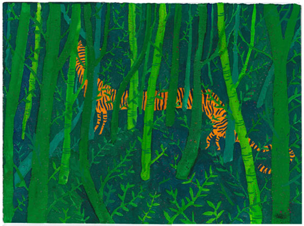 In Illustration: The Work of Nicholas Stevenson: tigers_face_7_20110714_1090650420.jpg