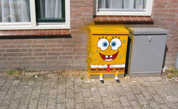 In Street Art: Sponge Bob is Everywhere: sponge_bob_on_the_street_1_20110715_1478799130.jpg