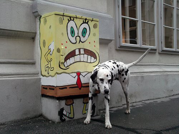 In Street Art: Sponge Bob is Everywhere: sponge_bob_on_the_street_5_20110715_1137006758.jpg