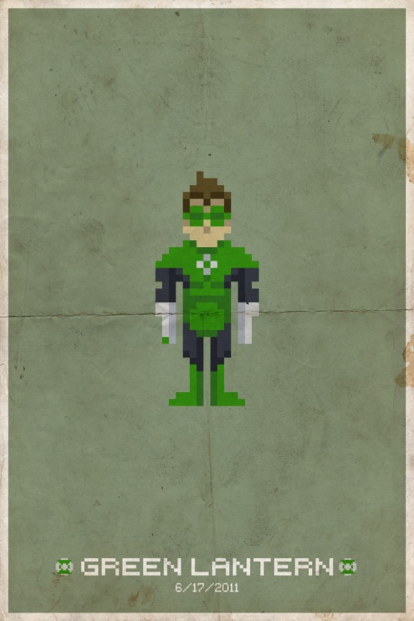 Pixel Power Prints by Mike Myers: pixel_posters_15_20110716_1206196920.jpg