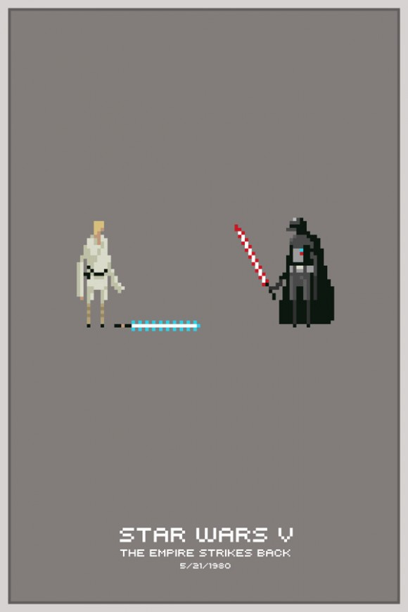 Pixel Power Prints by Mike Myers: pixel_posters_1_20110716_1417477355.jpg