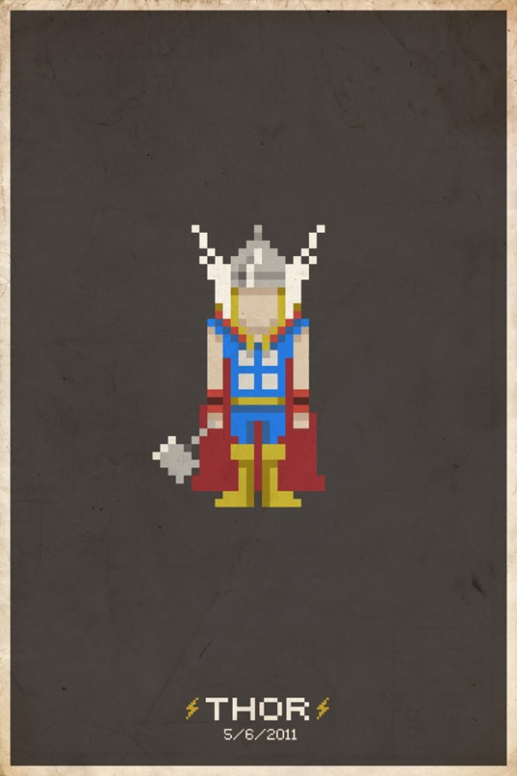Pixel Power Prints by Mike Myers: pixel_posters_20_20110716_1815450930.jpg