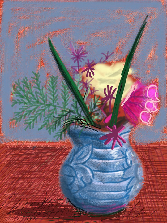 "David Hockney: ""Me Draw on IPad"" in Humlebaek, Denmark : david_hockney_10_20110801_1972533265.jpg"