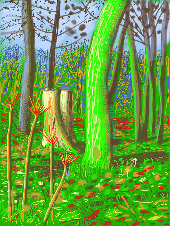 "David Hockney: ""Me Draw on IPad"" in Humlebaek, Denmark : david_hockney_1_20110801_1808710528.jpg"