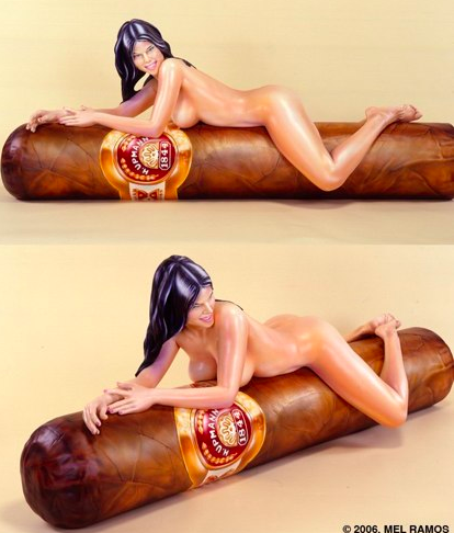 In Erotica: The Sculptures of Mel Ramos: mel_ramos_sculpture_8_20110804_1304522730.png