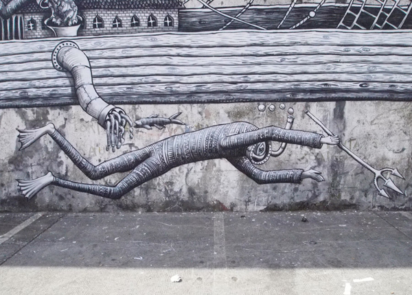 In Street Art: Phlegm in Portugal: phlegm_walk_and_talk_12_20110819_1820651208.jpg
