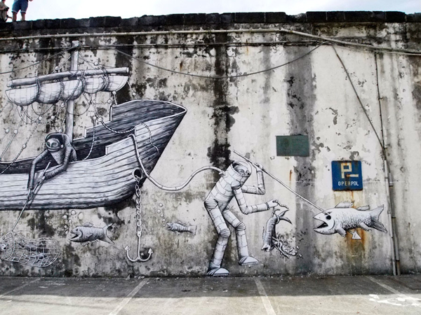 In Street Art: Phlegm in Portugal: phlegm_walk_and_talk_16_20110819_2073501690.jpg