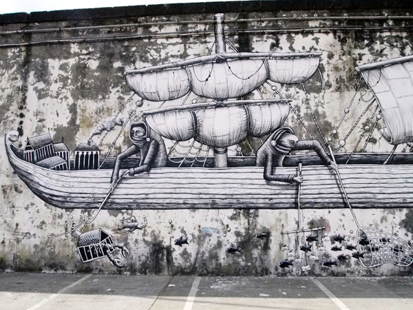 In Street Art: Phlegm in Portugal: phlegm_walk_and_talk_1_20110819_1155257642.jpg