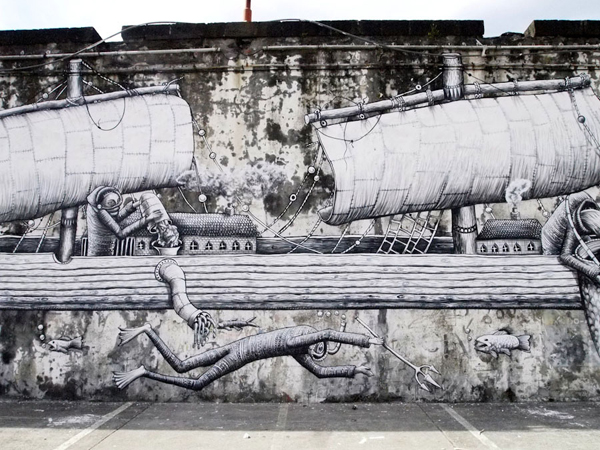 In Street Art: Phlegm in Portugal: phlegm_walk_and_talk_9_20110819_1166154452.jpg