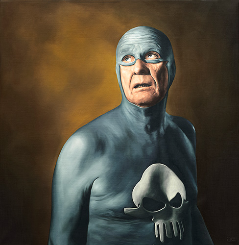 Best of 2013: Portraits of an Elderly Superhero by Andreas Englund: Juxtapoz-AndreasEnglund-04.jpg