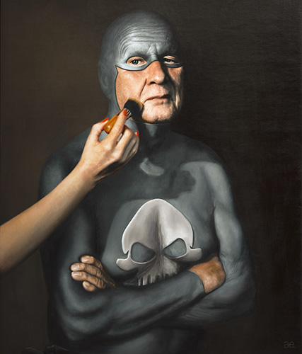 Best of 2013: Portraits of an Elderly Superhero by Andreas Englund: Juxtapoz-AndreasEnglund-05.jpg