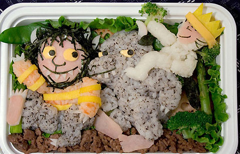 Bento Box Art by Anna the Red: anna_the_red_bento_box_1_20110902_1854662977.jpg