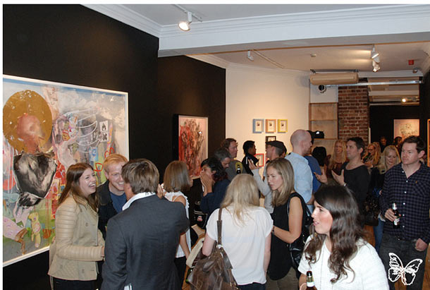 Opening Photos: Antony Micallef @ Lazarides Gallery London: antony_micallef_laz_1_20110909_1598660386.jpg