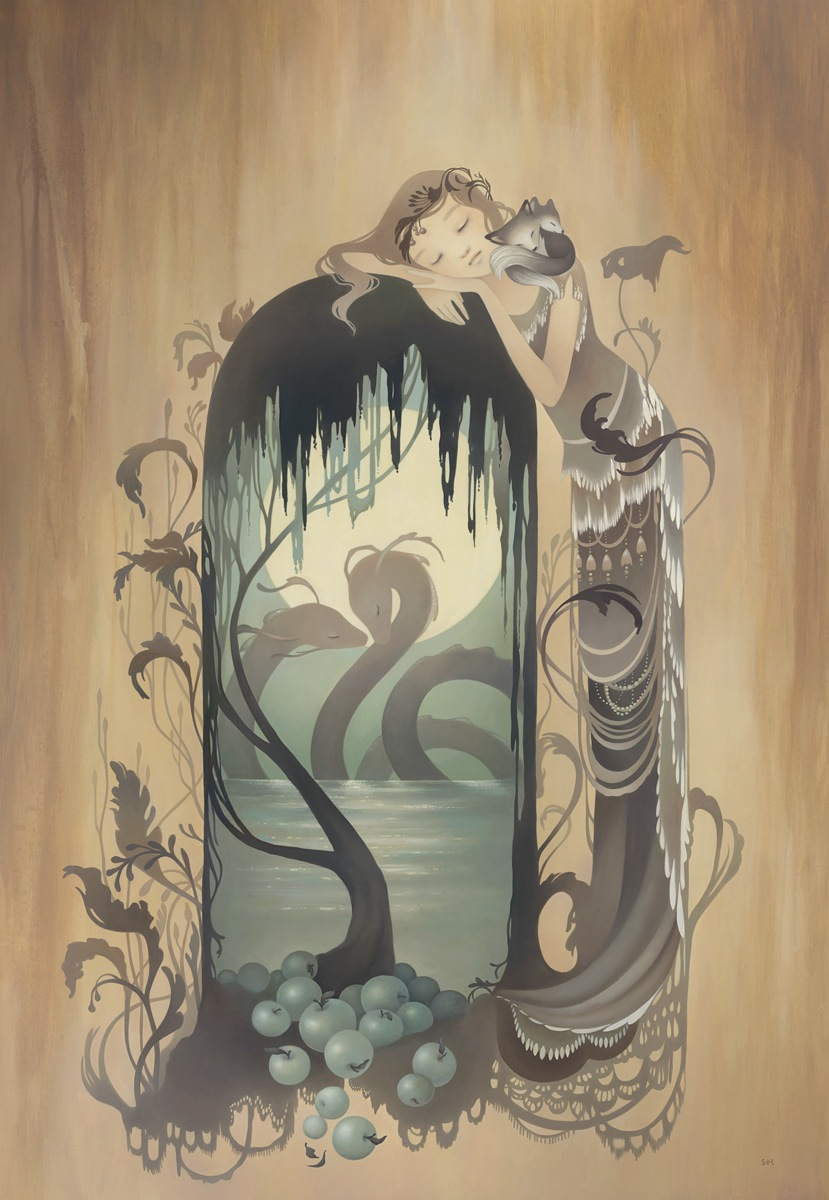 "Preview: Audrey Kawasaki, Amy Sol, and ""In the Wake of Dreams"" at Thinkspace Gallery: in_wake_of_dreams_thinkspace_preview_16_20111008_1832679365.jpg"