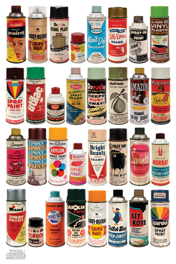 TOOLS OF CRIMINAL MISCHIEF: THE CANS Print: vintage_spray_can_prints_4_20111010_1085847037.jpg