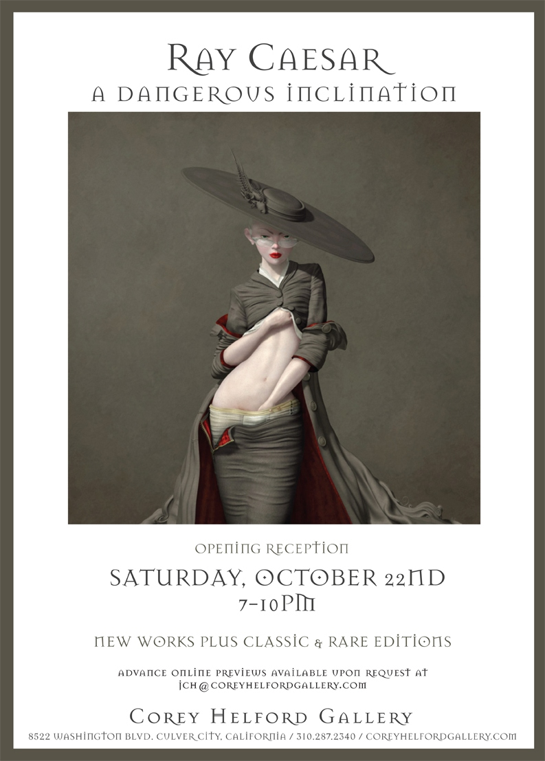 "Ray Caesar ""A Dangerous Inclination"" @ Corey Helford Gallery: ray_caesar_at_helford_6_20111021_1023810669.jpg"