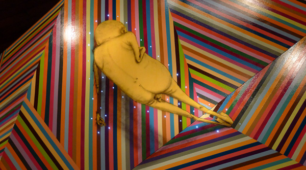 "Os Gemeos Opening Photos from ""Fermata"" @ Museu Vale: os_gemeos_opening_18_20111028_1266500229.png"