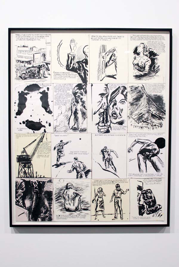 In L.A.: Raymond Pettibon: Desire in Pursuyt of the Whole: raymond_pettibon_regen_36_20111108_1663551931.jpg