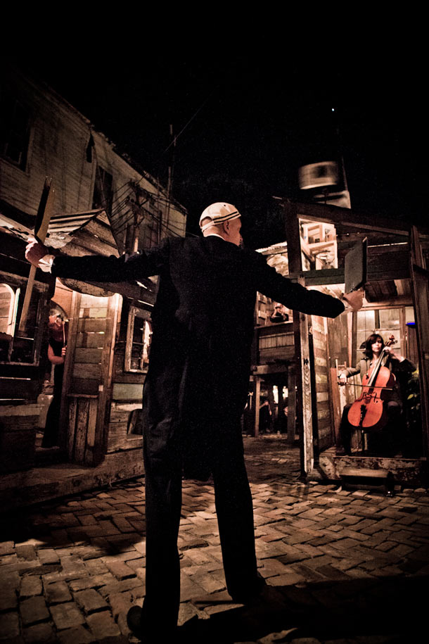 Swoon in New Orleans: The Music Box—A Shantytown Sound Laboratory: swoon_music_box_12_20111114_1665787931.jpg