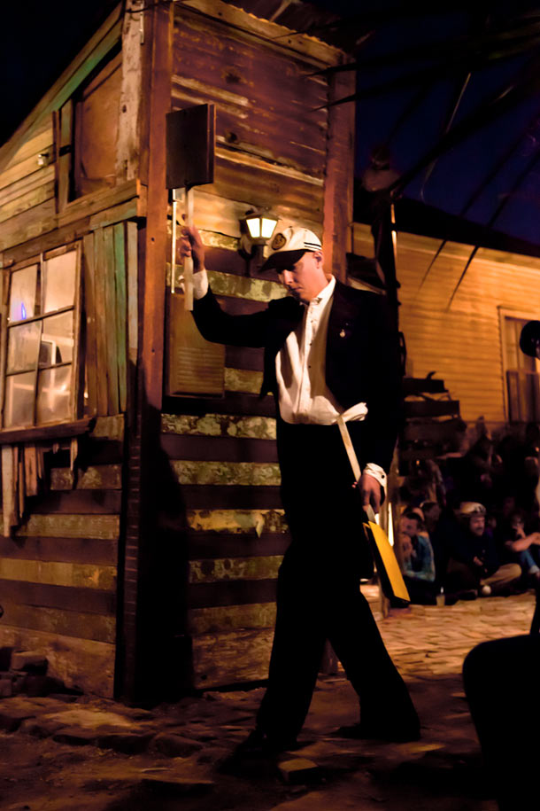 Swoon in New Orleans: The Music Box—A Shantytown Sound Laboratory: swoon_music_box_1_20111114_1601493021.jpg