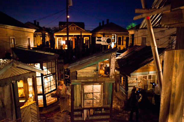 Swoon in New Orleans: The Music Box—A Shantytown Sound Laboratory: swoon_music_box_8_20111114_1426347831.jpg