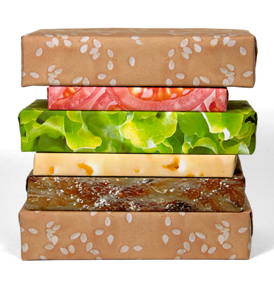 The Cheeseburger Gift Wrap Set: cheeseburger_set_5_20111208_1608468304.jpg