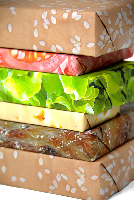 The Cheeseburger Gift Wrap Set: cheeseburger_set_7_20111208_1920129335.jpg