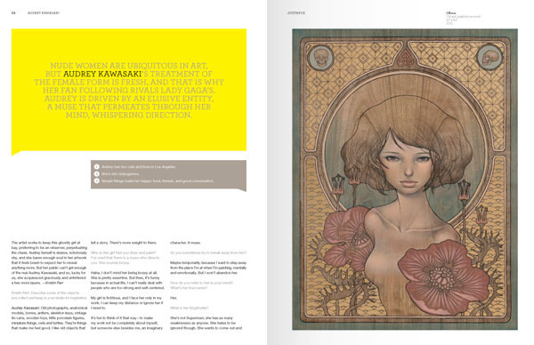 Preview: January 2012 Issue w/Audrey Kawasaki, Peter Beste, Horfe and others: january_2012_preview_8_20111213_1748056376.jpg