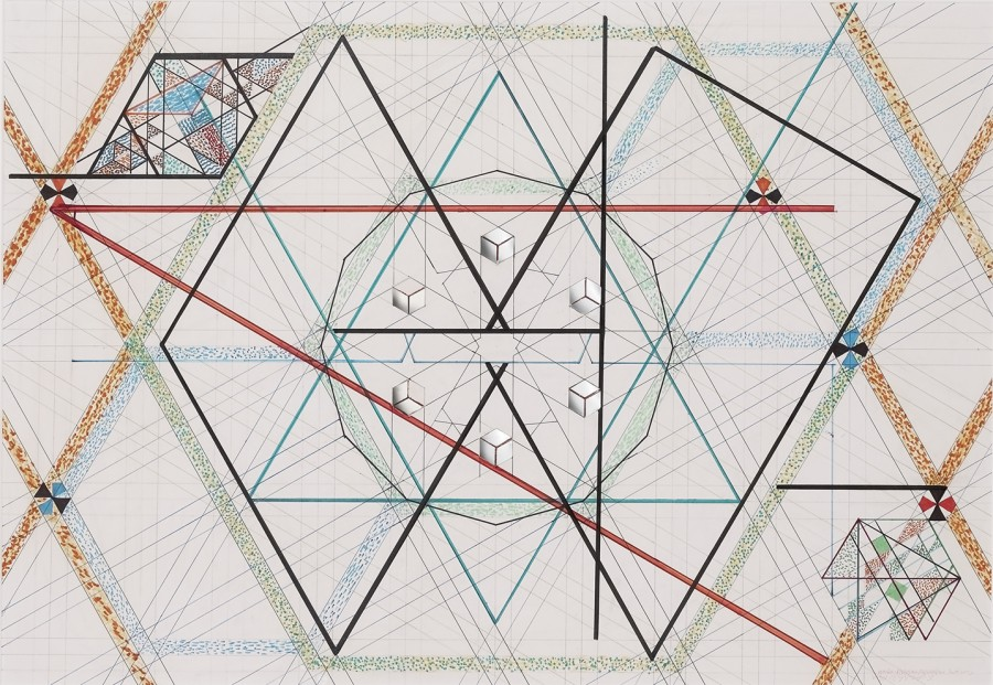 The Work of Monir Farmanfarmaian: Juxtapoz-Farmanfarmaian08.jpg